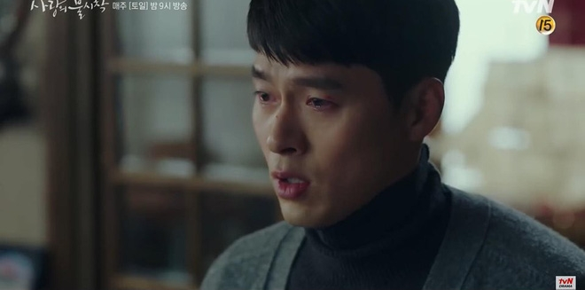 hyun bin dan mat hon the trong preview tap 9 ha canh noi anh vi nghe tin son ye jin bo mang