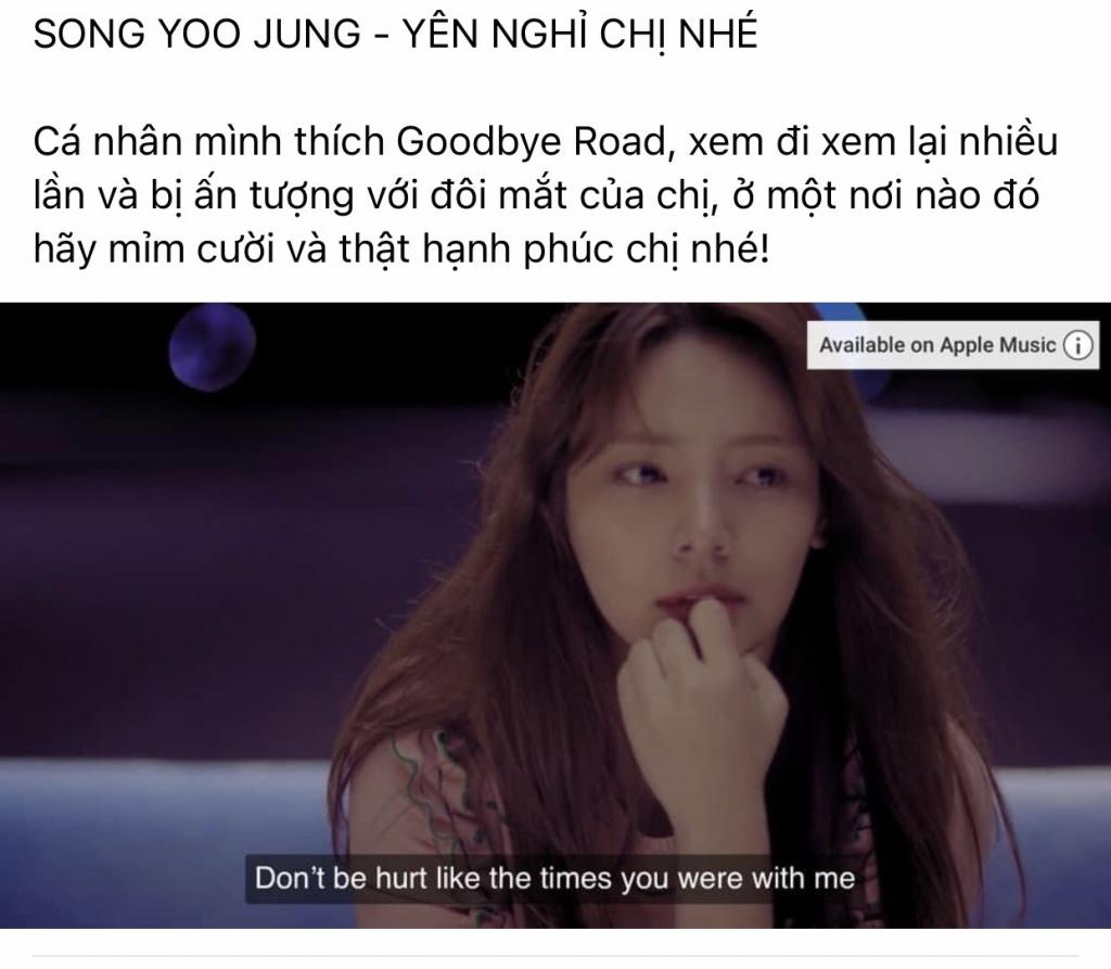 Cộng đồng fan nhóm nhạc iKON bày tỏ sự đau đớn trươc sự ra đi của Song Yoo Jung