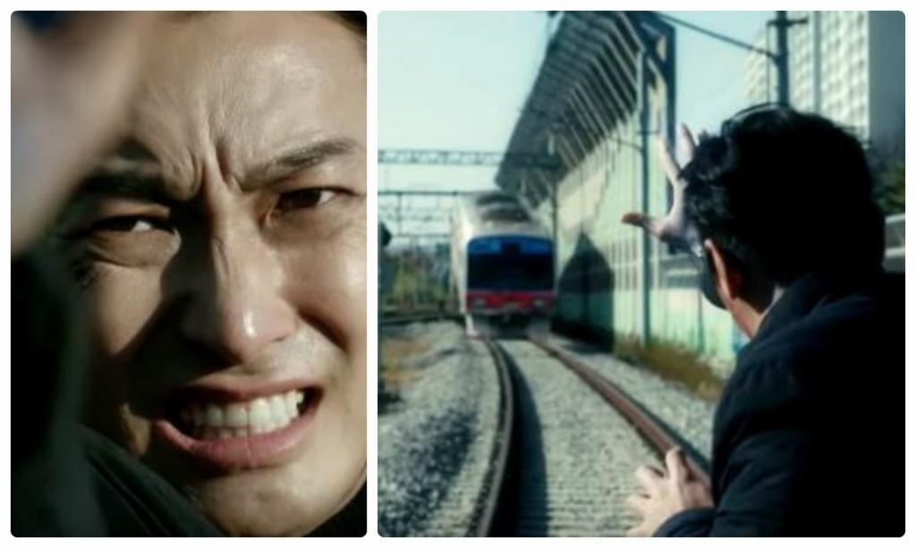 Joo Ji Hoon tự tay chặn đứng tàu hỏa trong 'The item'