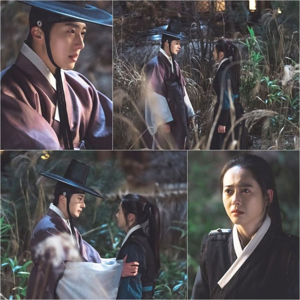 song gio bua vay chuyen tinh giua jung il woo va go ara trong haechi