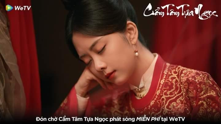 'Cẩm Tâm Tựa Ngọc' chuẩn bị lên sóng, Đàm Tùng Vận và Chung Hán Lương lộ cảnh khóa môi