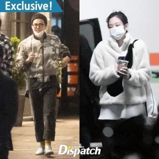 G-Dragon (BigBang) và Jennie (BlackPink) bị khui tin hẹn hò đã 1 năm