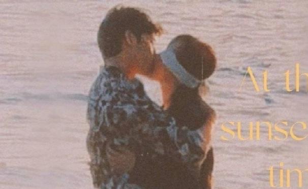 """Lộ ảnh Dương Tử 'ôm hôn"""" Tính Bách Nhiên thắm thiết bên bờ biển"""