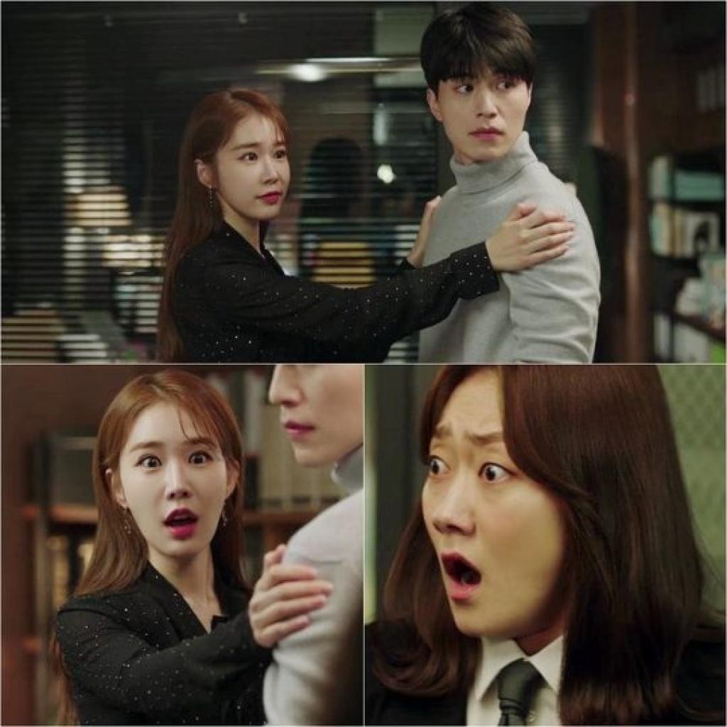 lee dong wook va yoo in na kho so yeu duong bi mat trong touch your heart
