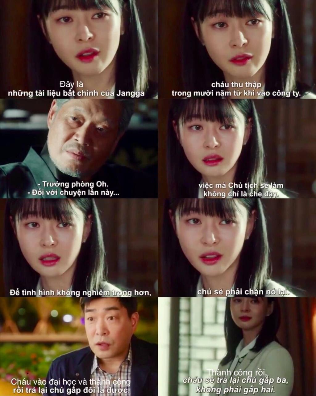 itaewon class oh soo ah moi xung dang la nu chinh thay cho jo yi seo