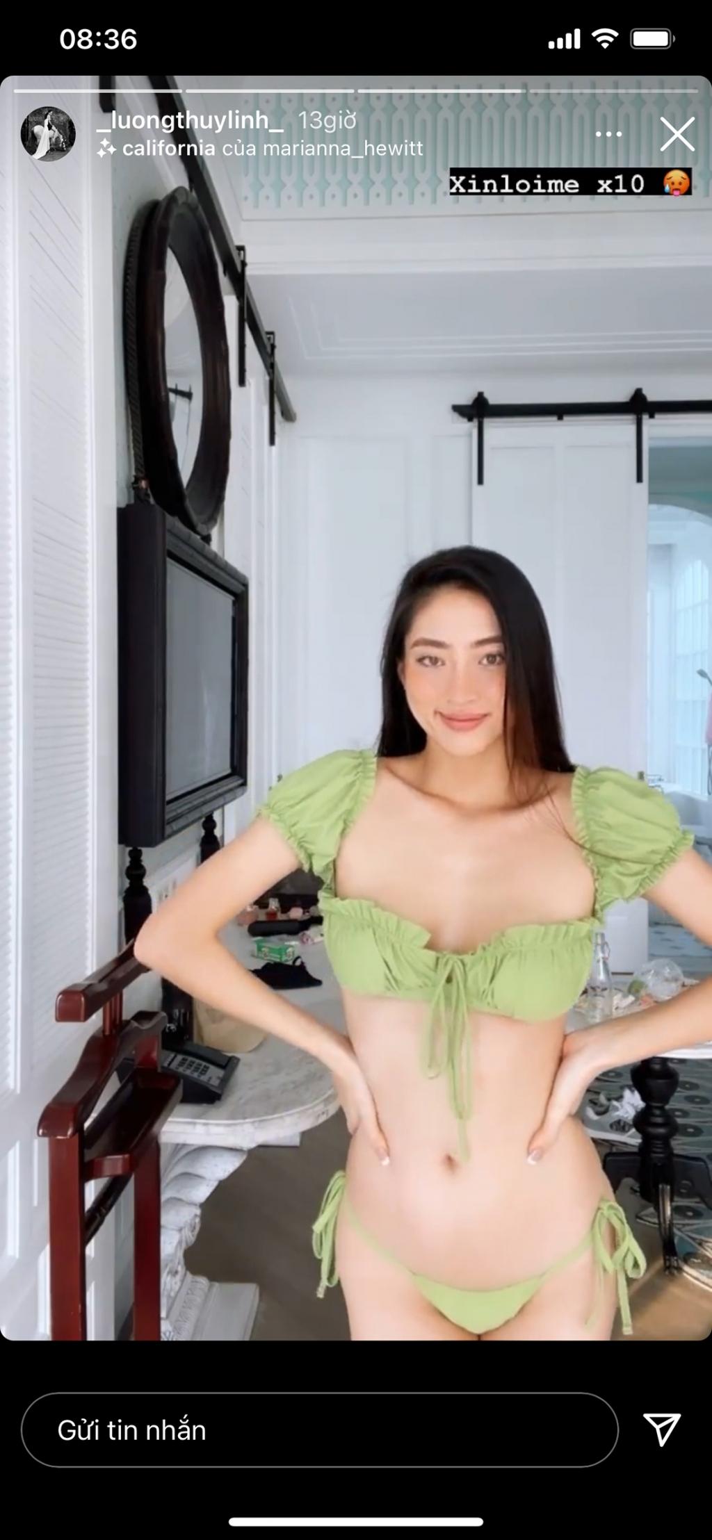 Hoa hậu Lương Thùy Linh biến hóa với style đi du lịch cực chất