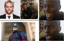 Captain America hàng 'pha ke' bị dân mạng chế giễu, chính chủ van xin đừng ném đá