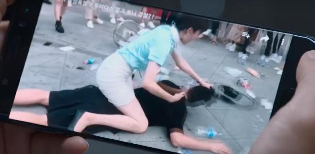 trailer dau tien cua girl cops lee sung kyung lam canh sat danh da nhat han quoc