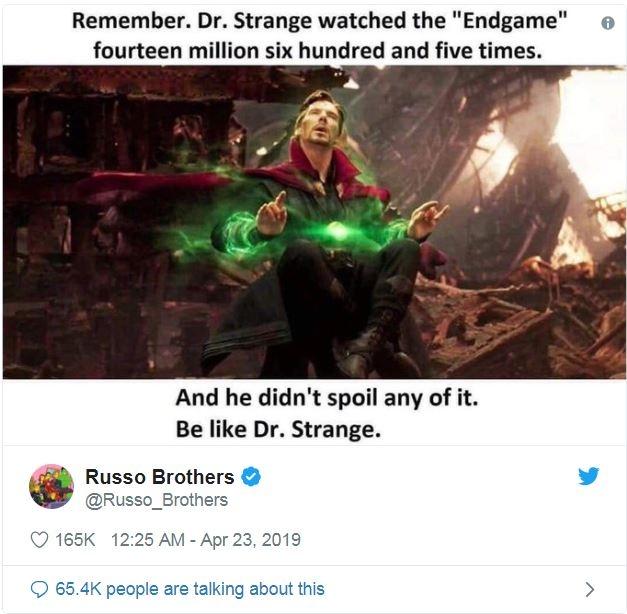 dao dien avengers endgame cam thay phien muon vi tiep tuc gap khan gia thieu y thuc
