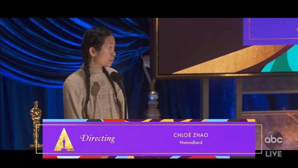 Trực tiếp Oscar 2021: Chloe Zhao làm nên lịch sử!