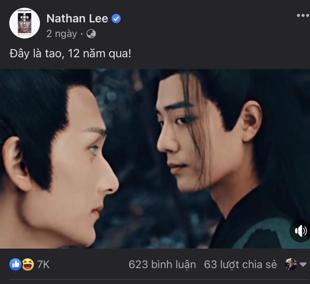 Tiêu Chiến ở nơi xa xôi có biết tại Việt Nam có Nathan Lee 'phát cuồng' vì mình đến vậy!