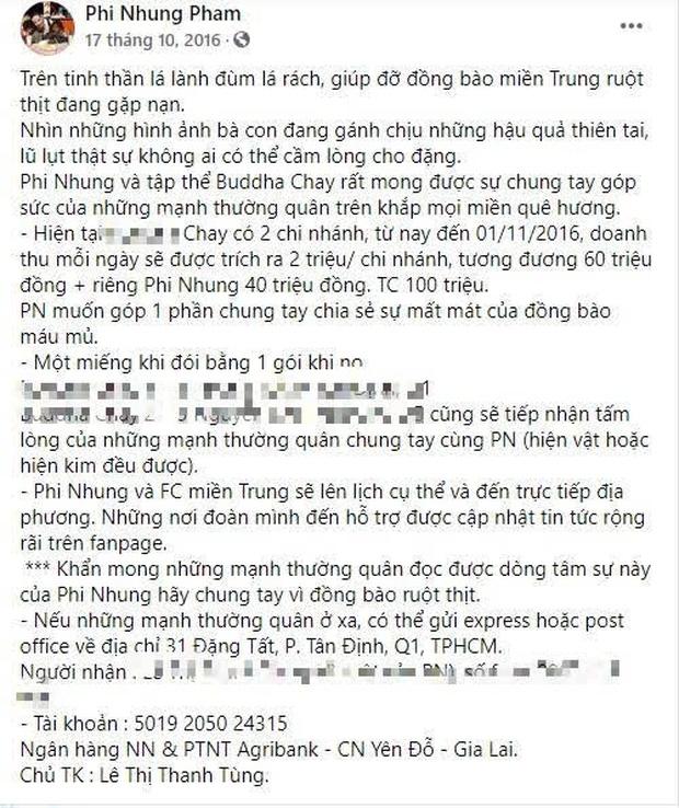Phi Nhung gây phẫn nộ khi bị netizen soi điểm bất thường trong đợt từ thiện miền Trung
