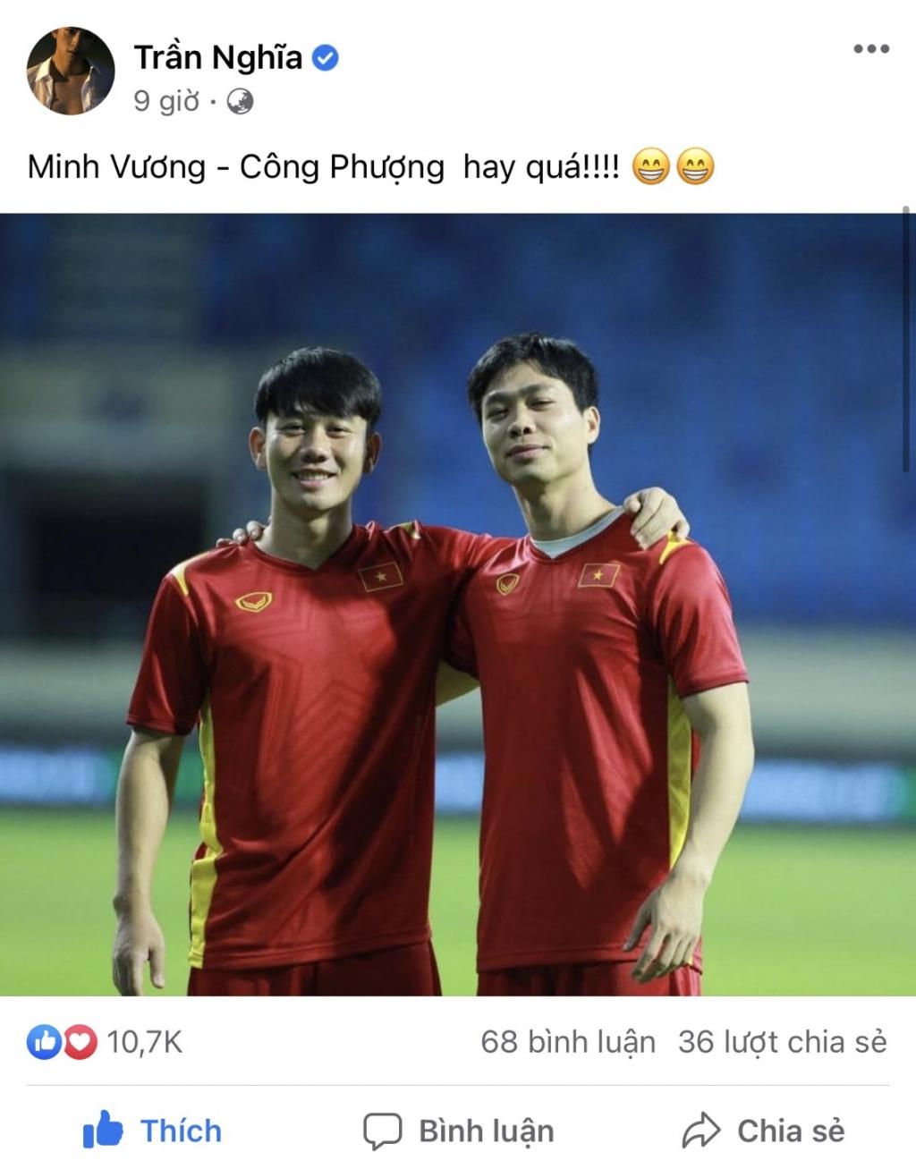 Trần Minh Vương là trai đẹp tuyển Việt Nam tiếp theo được cả showbiz săn đón