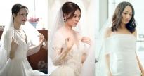 Mỹ nhân Việt đọ sắc khi mặc váy cưới, ai là người lung linh nhất trên màn ảnh?