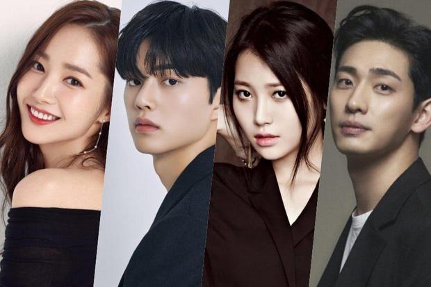 Park Min Young và Song Kang xác nhận cặp kè ở phim mới, khán giả mong Park Seo Joon tới làm cameo