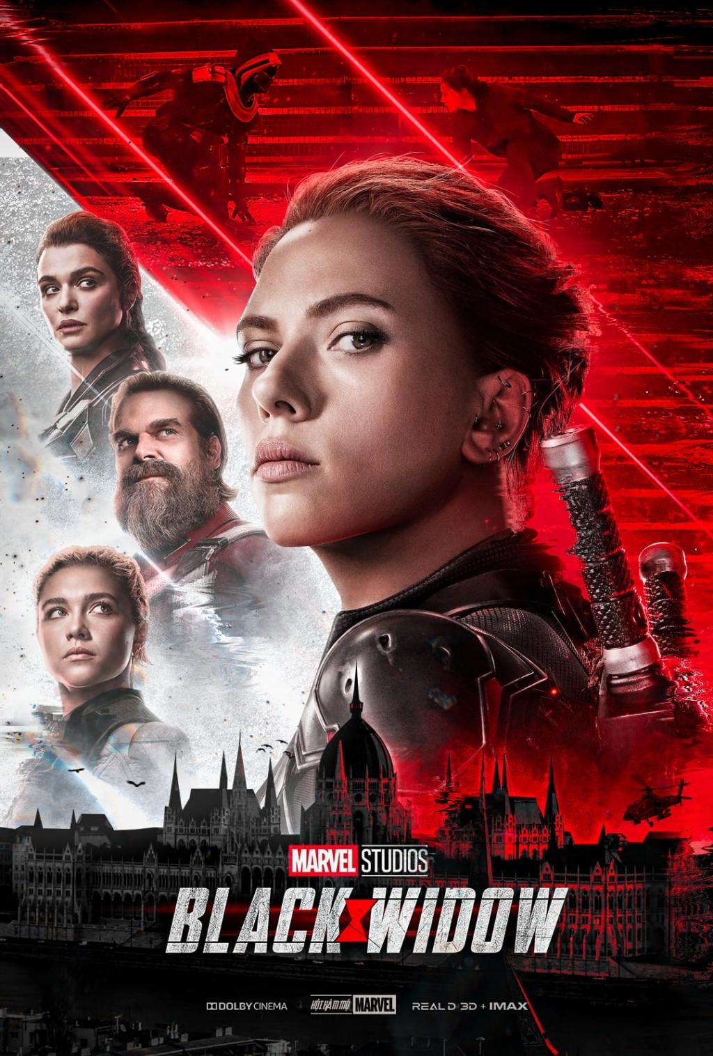 'Black Widow' được giới phê bình khen nức nở, đạt điểm cao ngất ngưởng trên Rotten Tomatoe