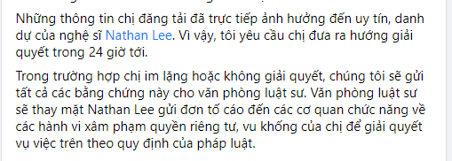 Nathan Lee phản ứng ra sao khi có người nói rằng 'thuê nhà rồi xù tiền'?