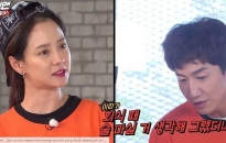 song ji hyo ngung khoc khi nghe lee kwang soo doc than chu tai buoi fan meeting cua running man