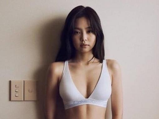 Jennie gây 'mất máu' với bộ ảnh sexy cho thương hiệu 'đồ lót' Calvin Klein