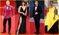 Dàn sao đổ bộ trên thảm đỏ ra mắt 'No time to die' - phim James Bond cuối cùng của Daniel Craig
