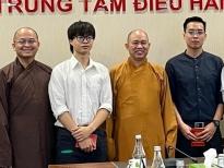 Nhóm rapper tới tận Trung ương Giáo hội Phật giáo Việt Nam để xin lỗi vì bài nhạc xúc phạm Phật giáo