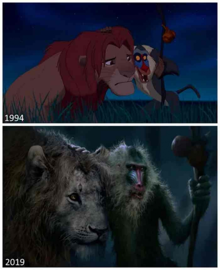 ngo ngang voi do song dong cua the lion king remake