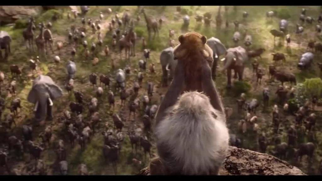 thich thu voi video so sanh giua hai phien ban cua the lion king