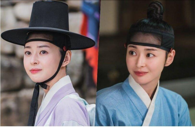 my nhan kwon nara dep la voi tao hinh co trang trong phim moi secret royal inspector