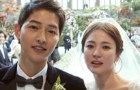 Song Joong Ki cảm ơn đài KBS đã 'mai mối' cho anh với vợ Song Hye Kyo