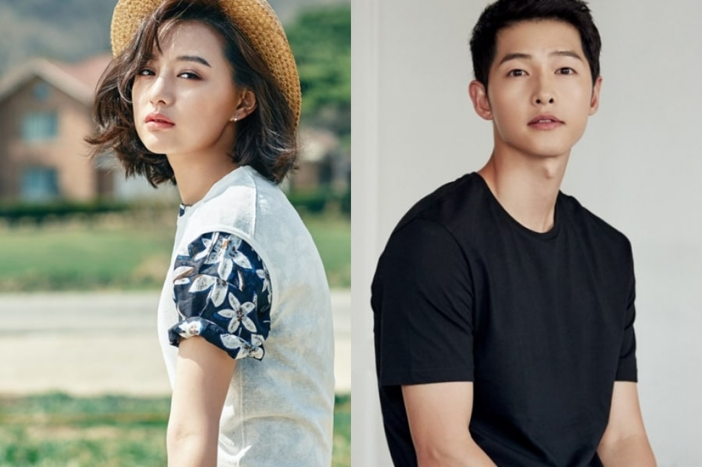song joong ki va kim ji won cua hau due mat troi tai ngo trong phim moi