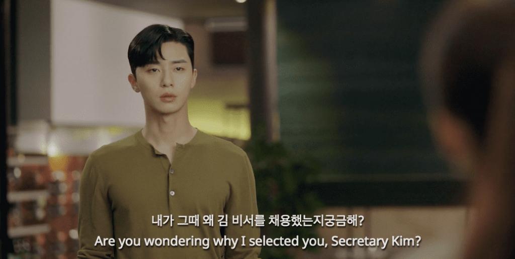 nhung khoanh khac park seo joon don tim khan gia trong tap 7 8 cua thu ky kim