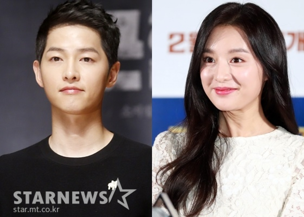 song joong ki kim ji won jang dong gun dan sao hoi tu trong bom tan co trang 2019