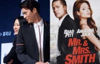 son ye jin tu nhan minh va hyun bin la mr va mrs smith han quoc