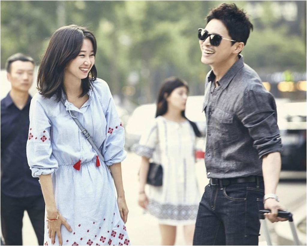 gong hyo jin va jo jung suk tai hop tren man anh rong sau muon kieu ghen tuong