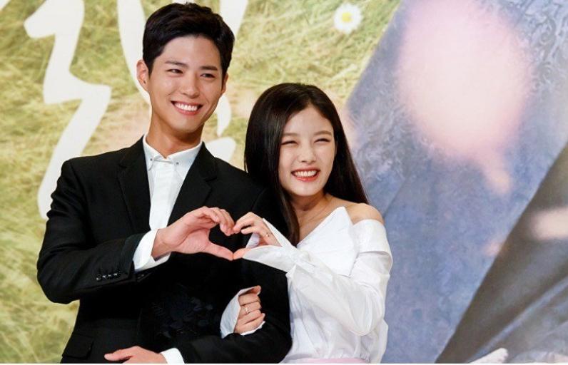 thai tu park bo gum va ra on kim yoo jung sanh vai tai kbs drama awards