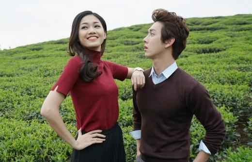 Bắt gặp trai đẹp Song Luân 'hẹn hò' cùng Á hậu Thanh Tú giữa đồi chè Nghệ An