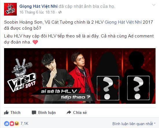 fans cuong cuong du doan ten cua hai hlv con lai cua the voice kids 2017