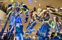 Sơn Tùng M-TP diện style cực chất đọ độ ngầu cùng dàn robot Transformers
