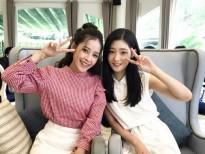 Chi Pu đọ độ đáng yêu cùng Chaeyeon (DIA)