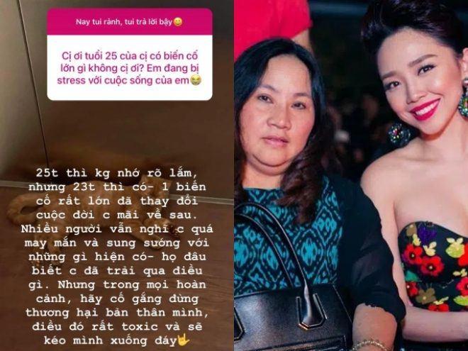 Tóc Tiên hé lộ biến cố tuổi 23 liên quan đến mẹ ruột?