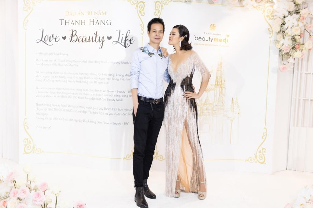 thu phuong dieu hoa tham du show dien cua hoang hai tai ha noi
