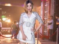Gặp tai nạn tông xe, Lưu Thiên Hương xuất hiện đầy cá tính tại Zing Music Awards 2017
