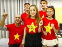 A Tuân cùng dàn sao Việt quay MV 'Triệu trái tim một tình yêu' cổ vũ U23 Việt Nam