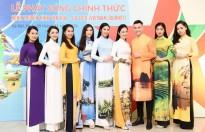 Diện áo dài Ngọc Hân, 'cô giáo showbiz nhí' Đinh Hương khoe sắc cùng dàn Hoa hậu