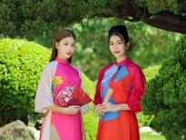 Á hậu Phương Anh, Ngọc Thảo gợi ý áo dài cách tân diện Tết
