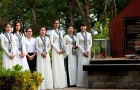 Hoa hậu H'Hen Niê tri ân các anh hùng chiến sĩ tại Côn Đảo