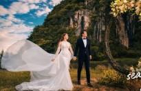 Hà Việt Dũng tung bộ ảnh tình tứ bên cạnh bà xã dân tộc Thái sau 4 tháng đám cưới
