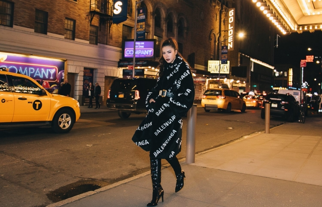minh tu khoe loat anh street style sanh dieu tai new york