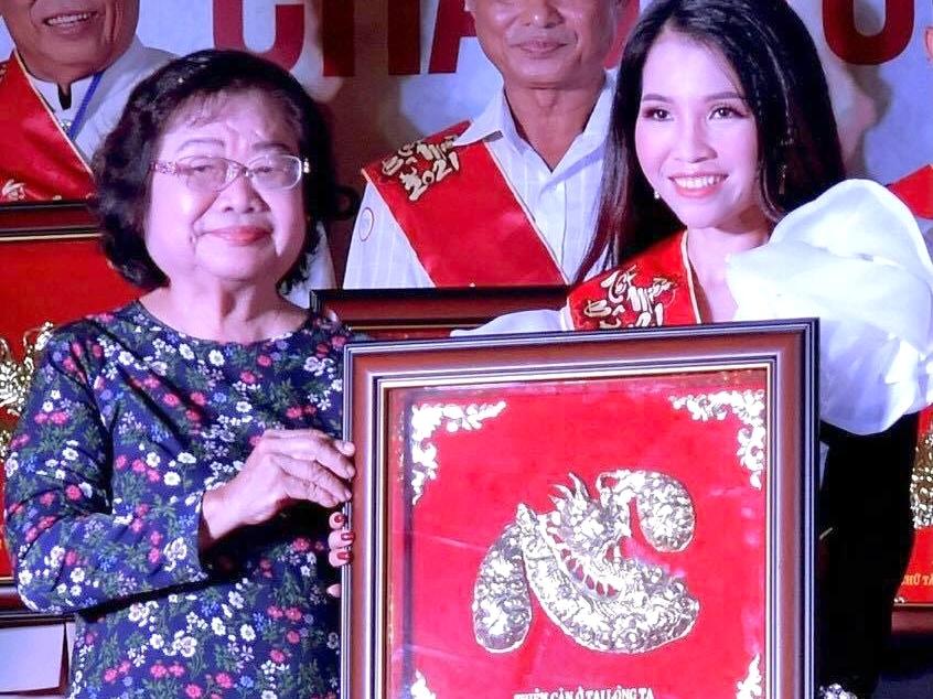 Thái Ngọc Thanh: Bảng vàng chữ Tâm là động lực phấn đấu cho năm 2021