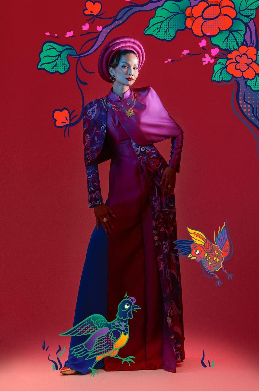 Hoa hậu H'Hen Niê truyền tải thông điệp tự hào bản sắc dân tộc